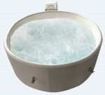 Spa gonflable Manilla noir 4 places BCF OUTDOOR